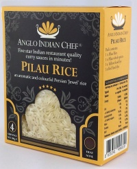 Anglo Indian Chef curry pack: Pilau Rice
